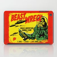 50s iPad Cases featuring BEASTWRECK ATTACKS! by BeastWreck
