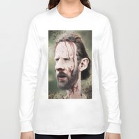 rick grimes Long Sleeve T-shirts featuring Rick Grimes by dbruce