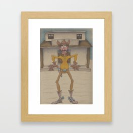 Gunslinger Framed Art Print