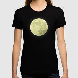 CANARY YELLOW MOON T-shirt
