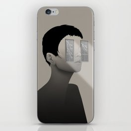 Fury in Your Eyes iPhone Skin