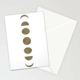 Moon Phases 2 Stationery Cards