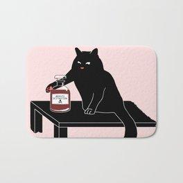 BlackPink Cat - Beaker Breaker Bath Mat