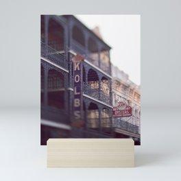 Morning Light in the French Quarter Mini Art Print