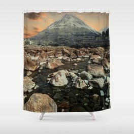 Valley of faires Shower Curtain