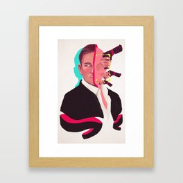The Man in the Suit Framed Art Print