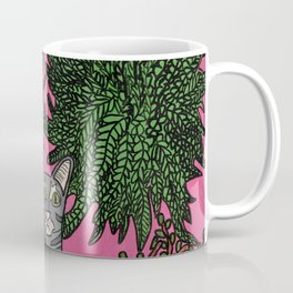 Standard Issue Cat with House Plants Coffee Mug