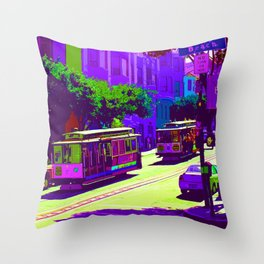 San Francisco 008 Throw Pillow