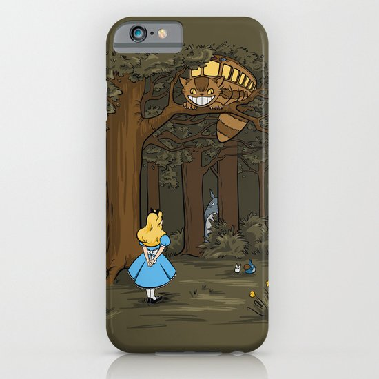 My Neighbor in Wonderland iPhone & iPod Case