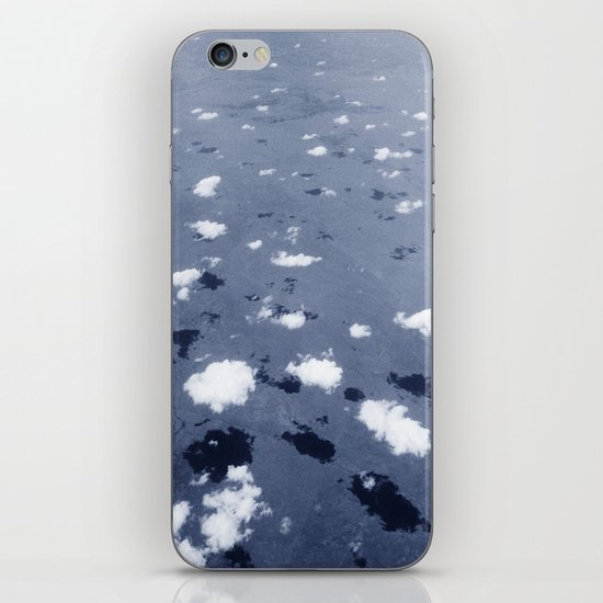 Clouds over the Australian outback. iPhone & iPod Skin