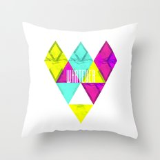 Paper Triangles ▵WHATEVER▵ Throw Pillow
