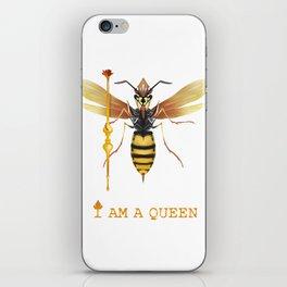 I am a Queen iPhone Skin