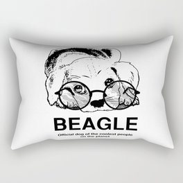 Beagle Dog for Coolest Owners - Beagle Lovers Gift Ideas Rectangular Pillow