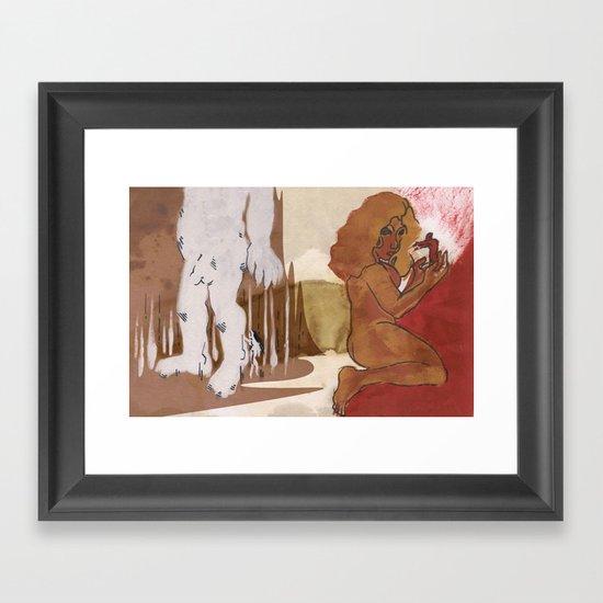"""Love This Giant"" by Virgina McCarthy Framed Art Print"