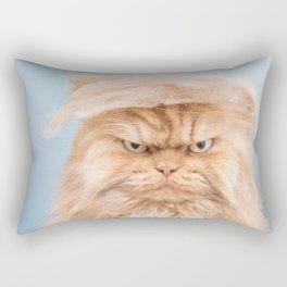 Trumpy Cat,best gift for cat lovers Rectangular Pillow