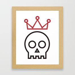 Hamlet. To be or not to be Framed Art Print