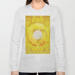 Gold In My Belly (Solar Plexus Chakra) Long Sleeve T-shirt