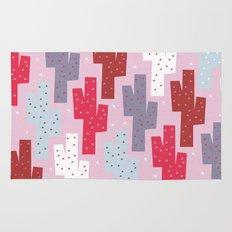 Sweet cactus pattern Rug