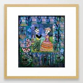 Catrin and Catrina Wedding Day Framed Art Print