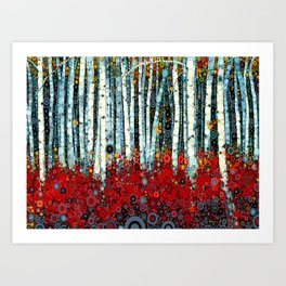 :: Begonia Birch :: Art Print