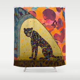 Wild Hearts Party Shower Curtain