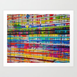 Drippage 2.0 Art Print