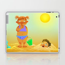 Hide him away Laptop & iPad Skin
