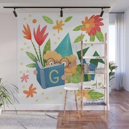 Book Gnome Wall Mural