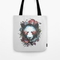 warrior Tote Bags featuring Warrior by Tracie Andrews