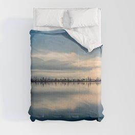 Sunrise over Osoyoos lake British Columbia Canada  Comforters