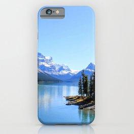 Spirit Island, Maligne Lake iPhone Case