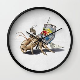 No Place Like Home (Wordless) Wall Clock