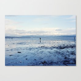 Untitled (Bellingham Bay Winter) Canvas Print