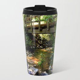Bridge Over Fall Creek at Vallecito Travel Mug