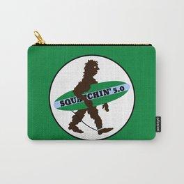 Sasquatch Squatchin' Surfing Bigfoot Carry-All Pouch