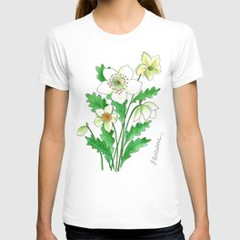 White Hellebore T-shirt