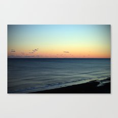 Sunset over the Ocean Canvas Print