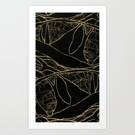 Coronary Contemporary 4 Art Print