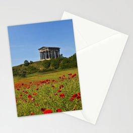 Penshaw Monument Poppys Stationery Cards