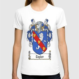 Family Crest - Taylor - Coat of Arms T-shirt