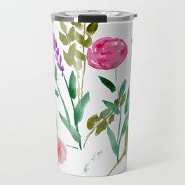 Country Bouquet Travel Mug