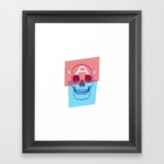 Captain America Framed Art Print