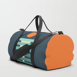 Minimalist ocean Duffle Bag