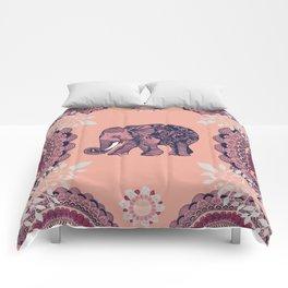 Bohemian Elephant Comforters
