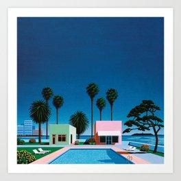 Pacific Breeze by Hiroshi Nagai Art Print