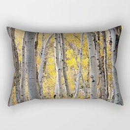 Hidden gold Rectangular Pillow