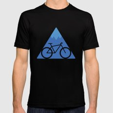 Off The Beaten Track Black Mens Fitted Tee LARGE