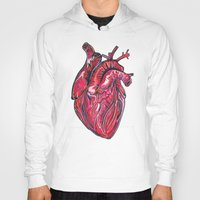 romance Hoodies featuring Romance by Adam McDade