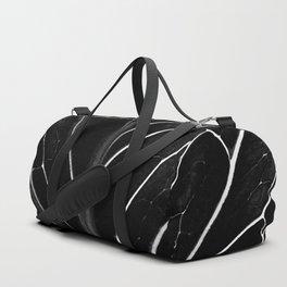 The black leaf Duffle Bag
