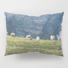 Beartooth Mountain Goats Pillow Sham